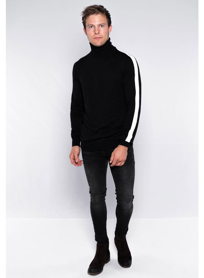 YCLO Knit Olav Black/White