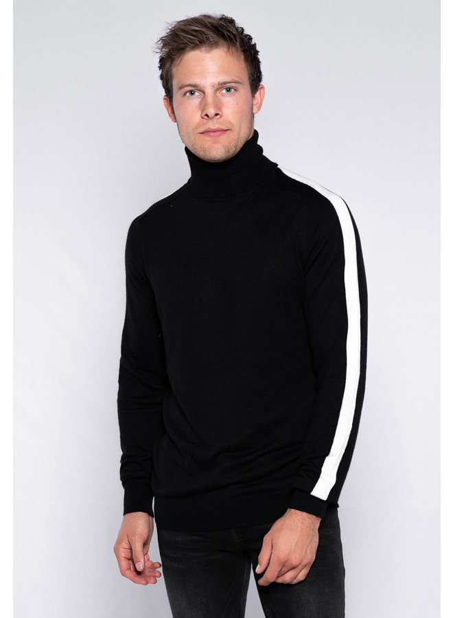 YCLO Knit Olav Black/White