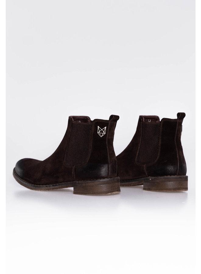 YCLO Suede Chelsea Boots Jorgen Brown