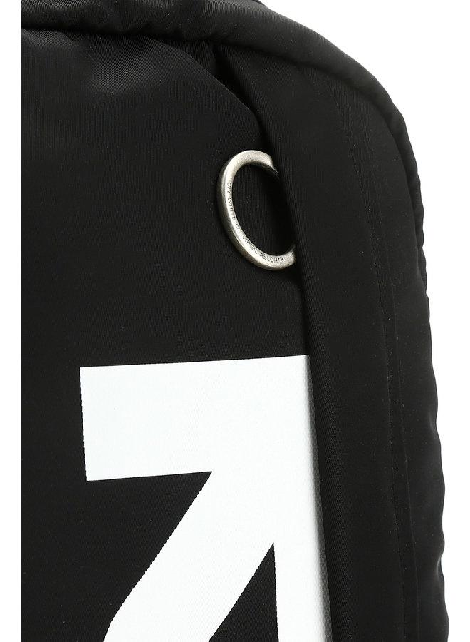 Off-White™ Pfeile Easy Backpack Schwarz / Weiß