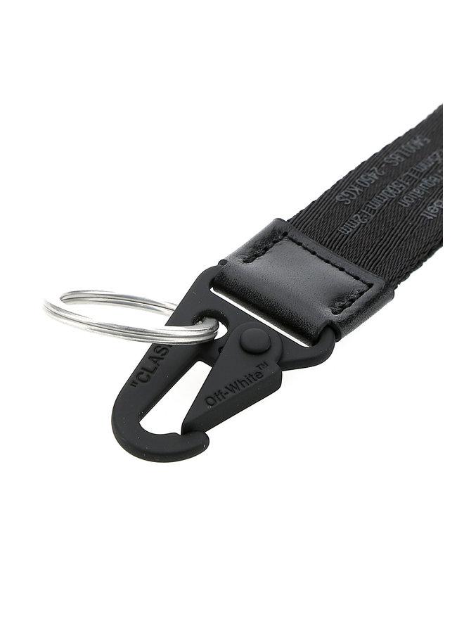 Off-White™ Industrieller Schlüsselring 2.0 Schwarz