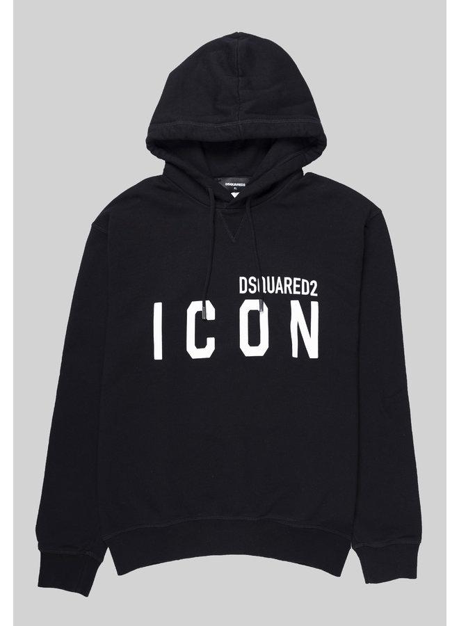 Dsquared2 Hoodie Icon Big Black