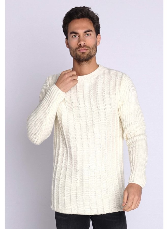 YCLO Knit Pullover Revo Off Wite