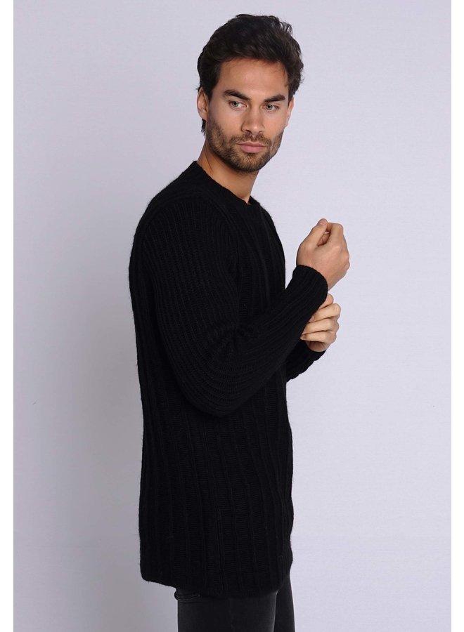 YCLO Knit Pullover Revo Black