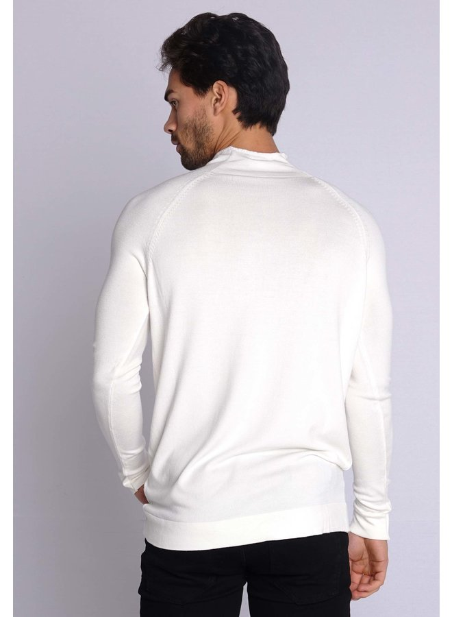 YCLO Knit Turtleneck Ovic Off White