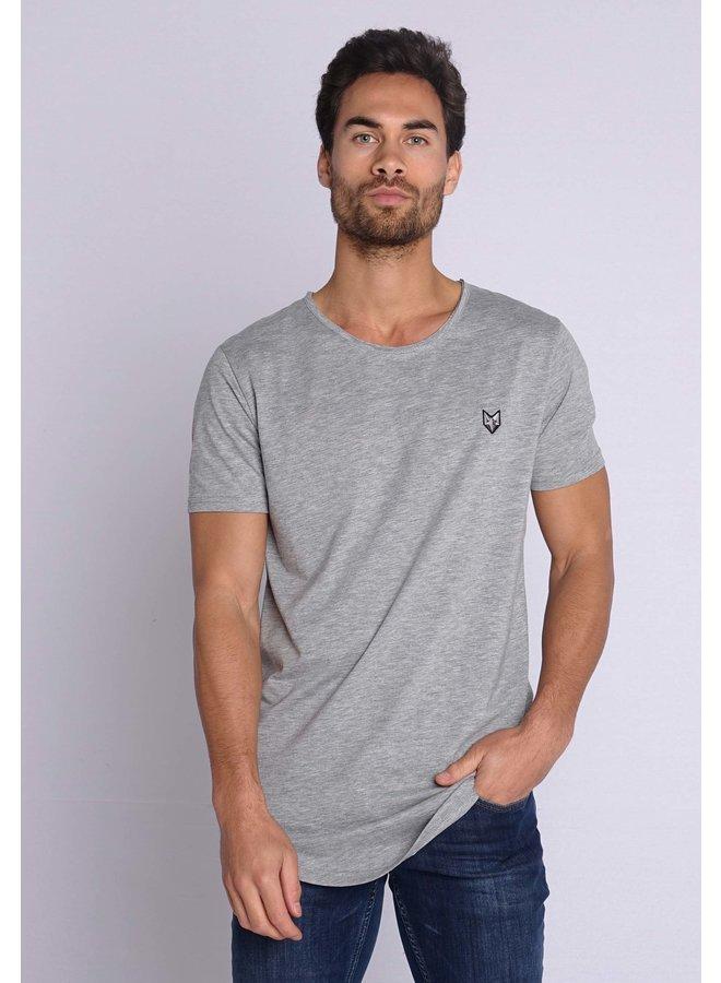 YCLO T-Shirt Kjeld Grey Melange