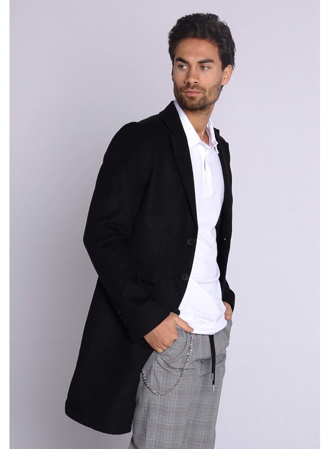 YCLO Carston Mantel schwarz