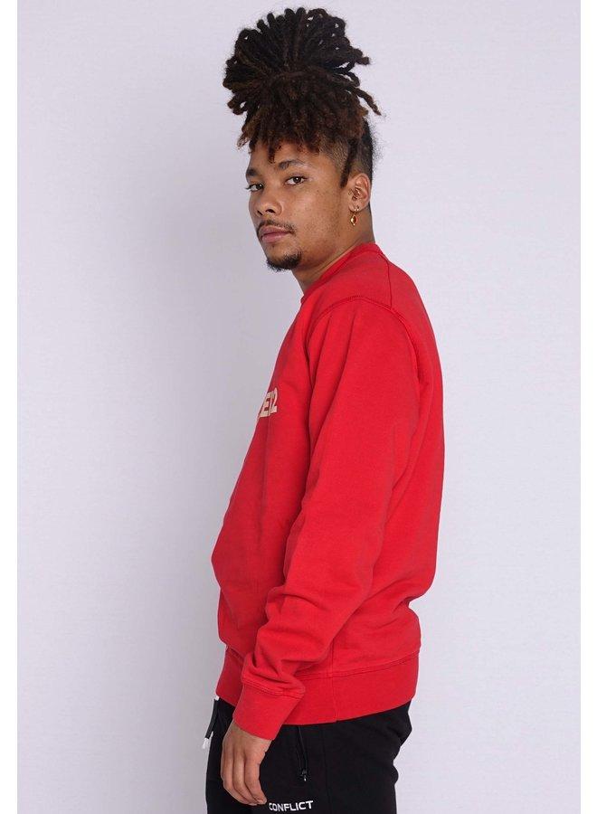 Dsquared2 Sweater Run Dan Red