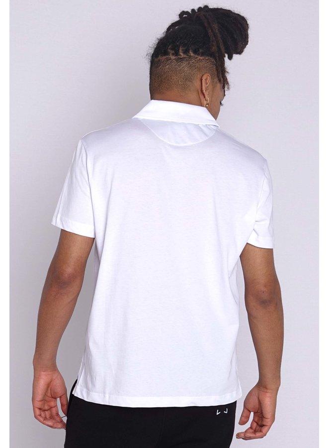 Love Moschino Peace Polo White