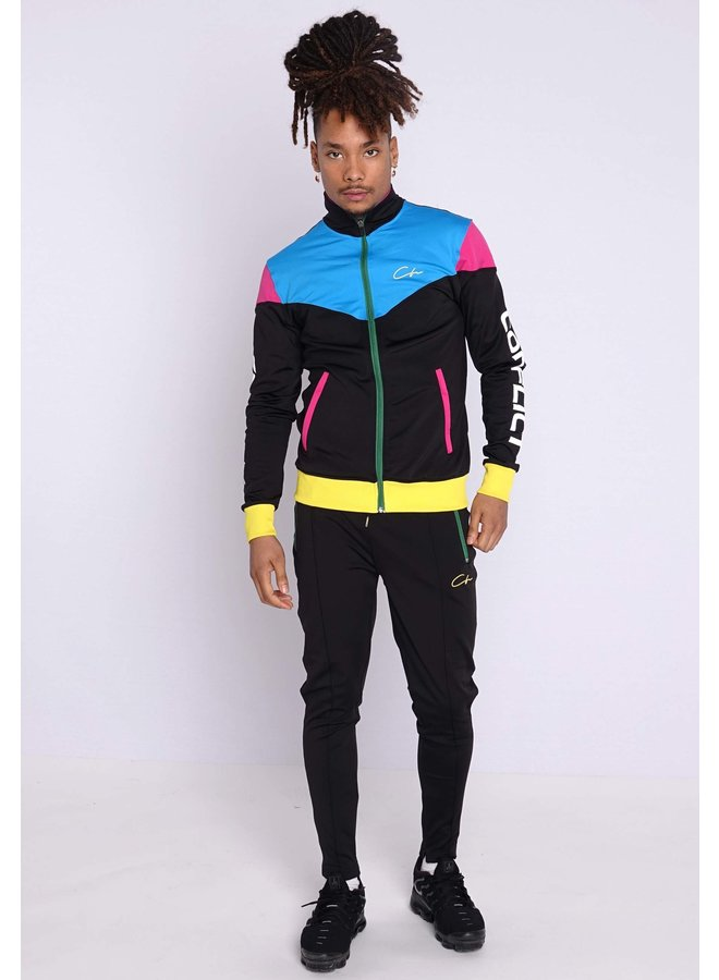 Conflict Tracksuit The Simpsons Black/Reflective