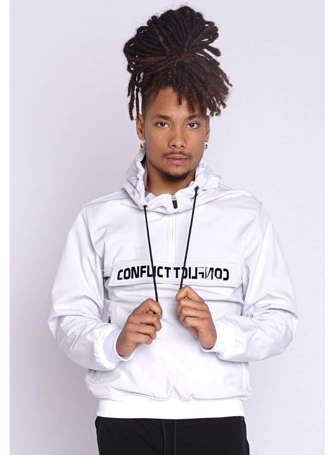 Conflict Anorak Soft Shell Jacket White