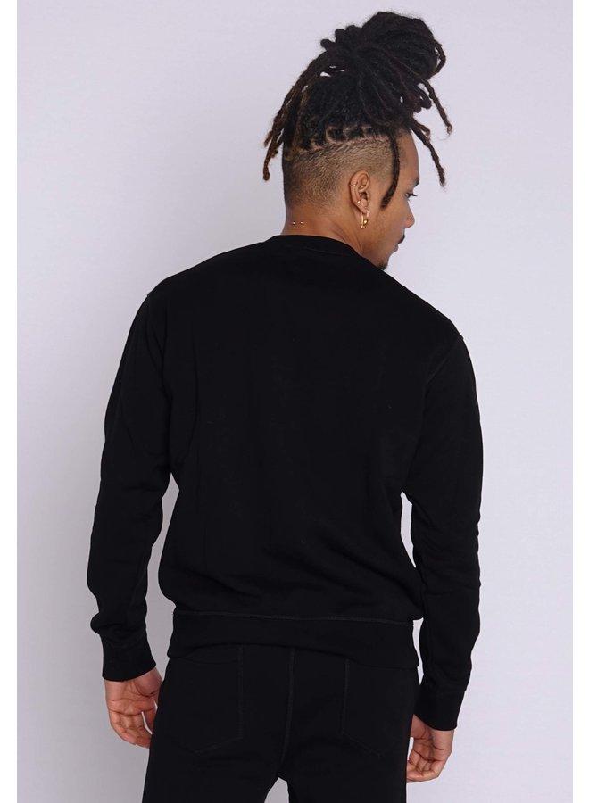 Dsquared2 Sweater Icon Big Black