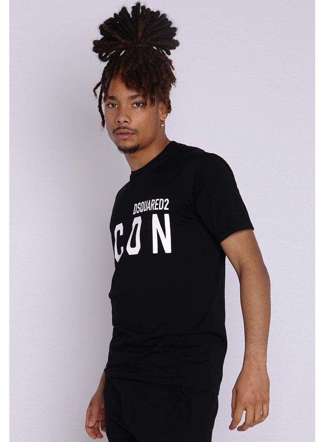 Dsquared2 T-Shirt Icon Schwarz