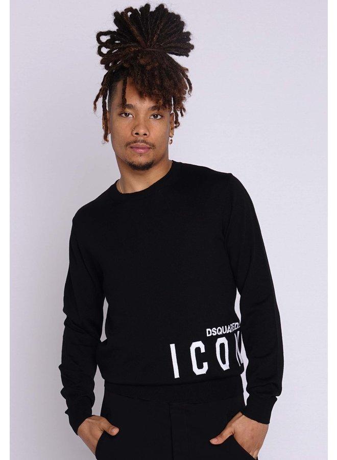 Dsquared2 Knit Icon Black