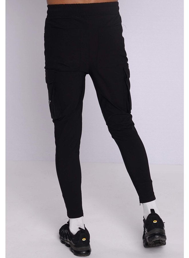 Conflict Cargo Pants Stretch Black / Reflective