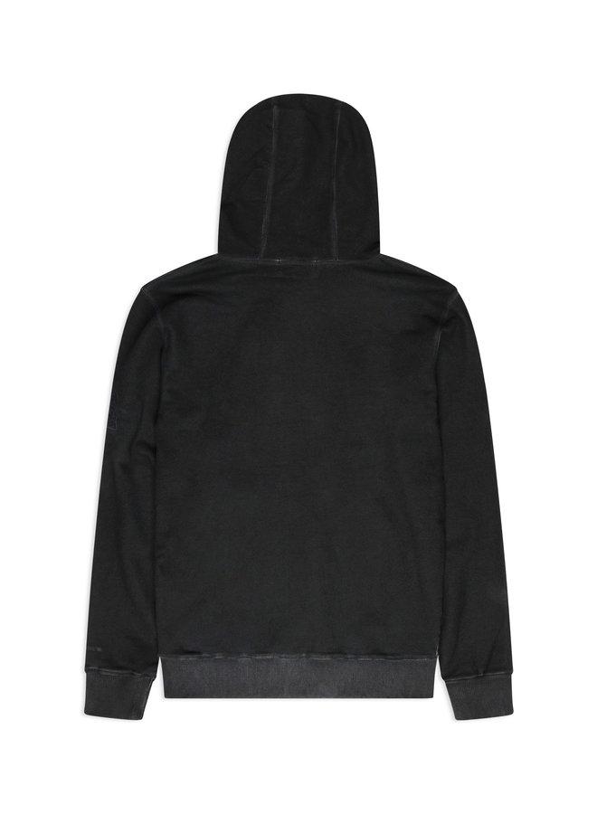 Conflict Dye Hoodie Essentials Dark Grey