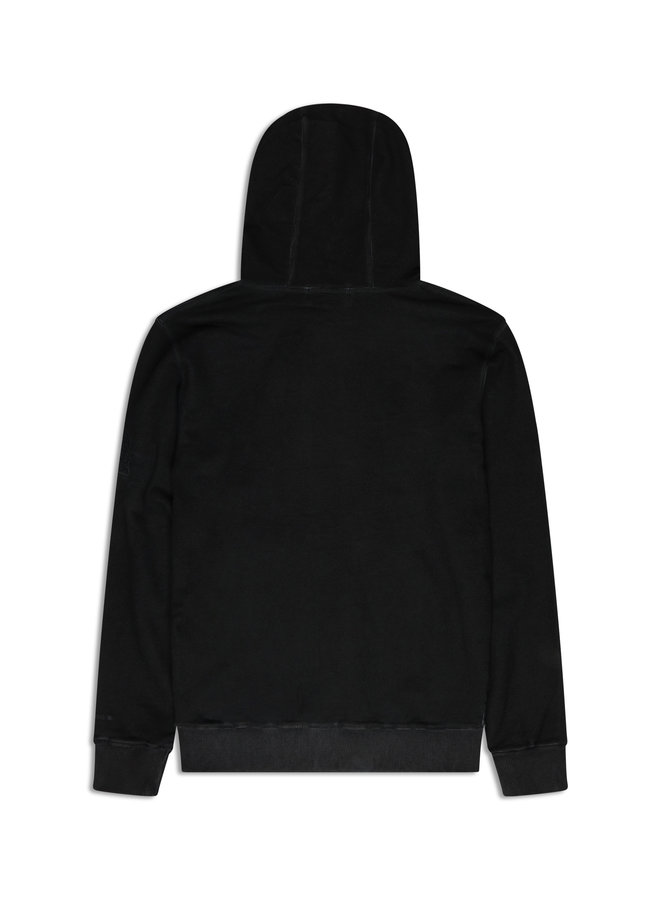 Conflict Dye Hoodie Essentials Black
