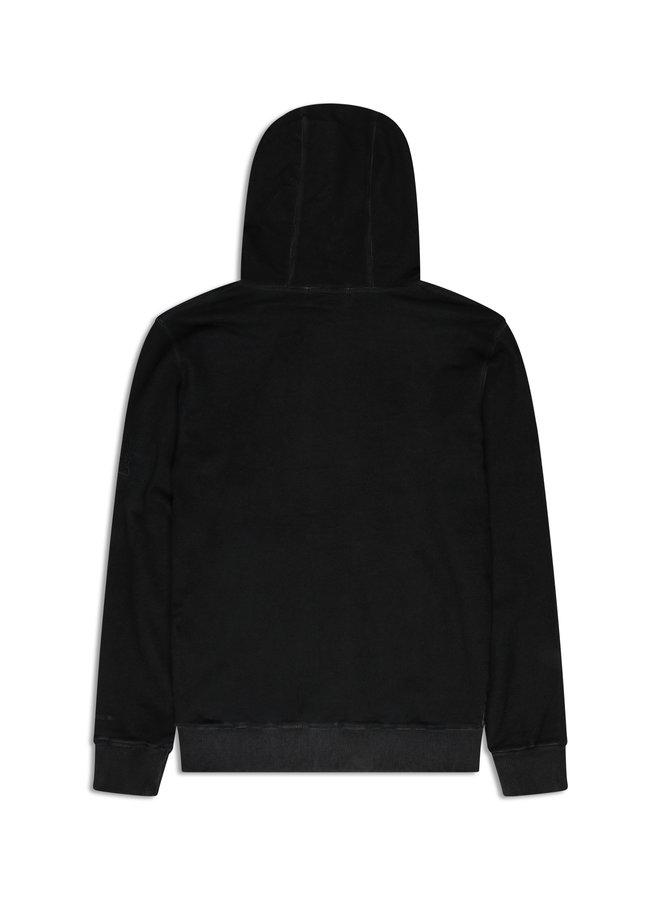 Conflict Dye Hoodie Essentials Schwarz