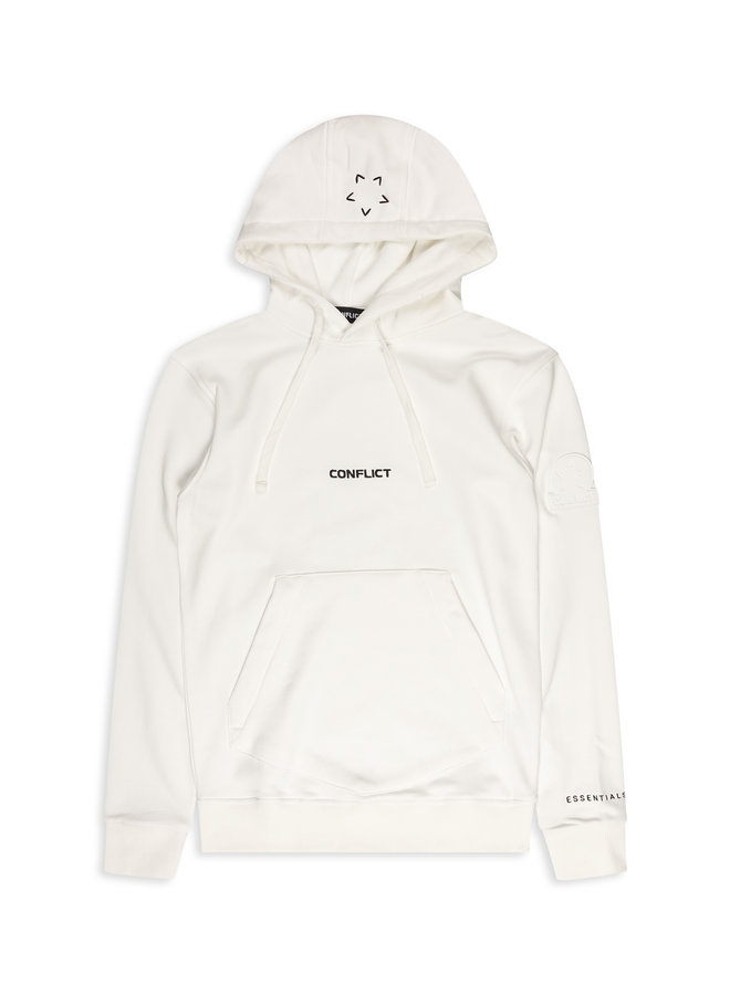 Conflict Hoodie Essentials Off White