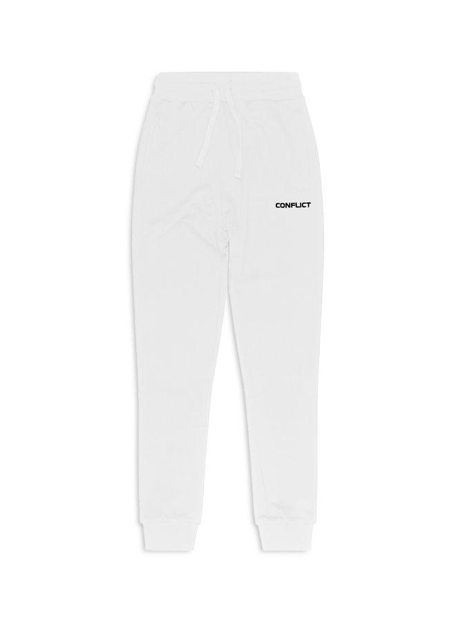 Conflict Sweat Pants Essentials White