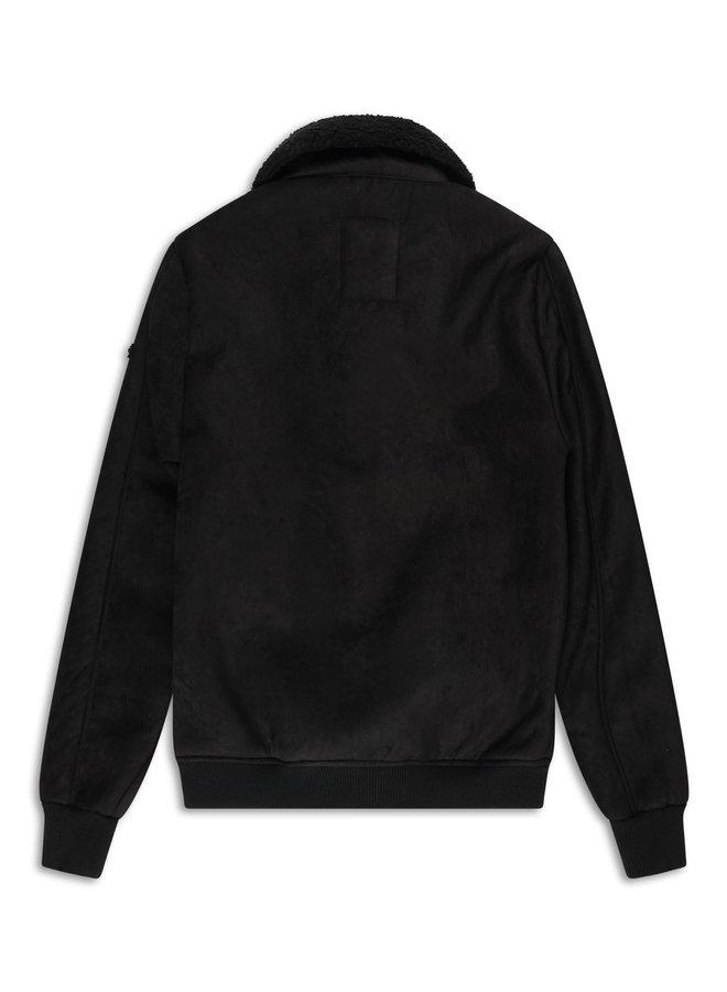 YCLO Shearling Jacket Mads Black