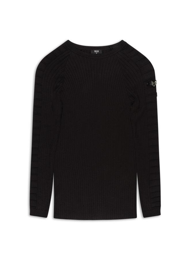 YCLO Knit Aksel Black