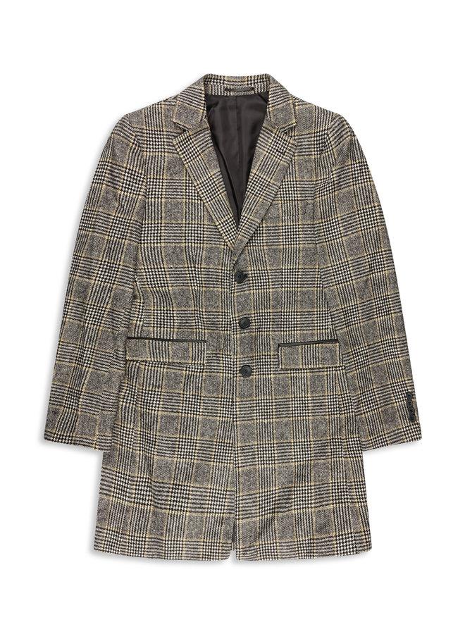 YCLO Carston Coat Checkered