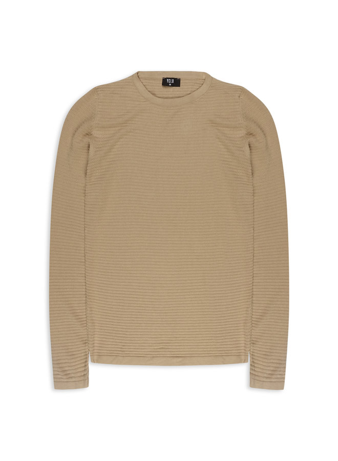 YCLO Knit Pullover Capton Beige