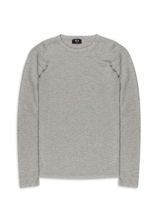 YCLO Knit Pullover Capton Grey