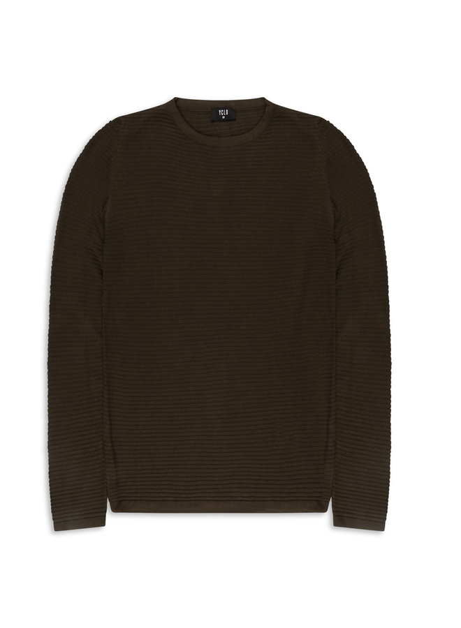 YCLO Knit Pullover Capton Army
