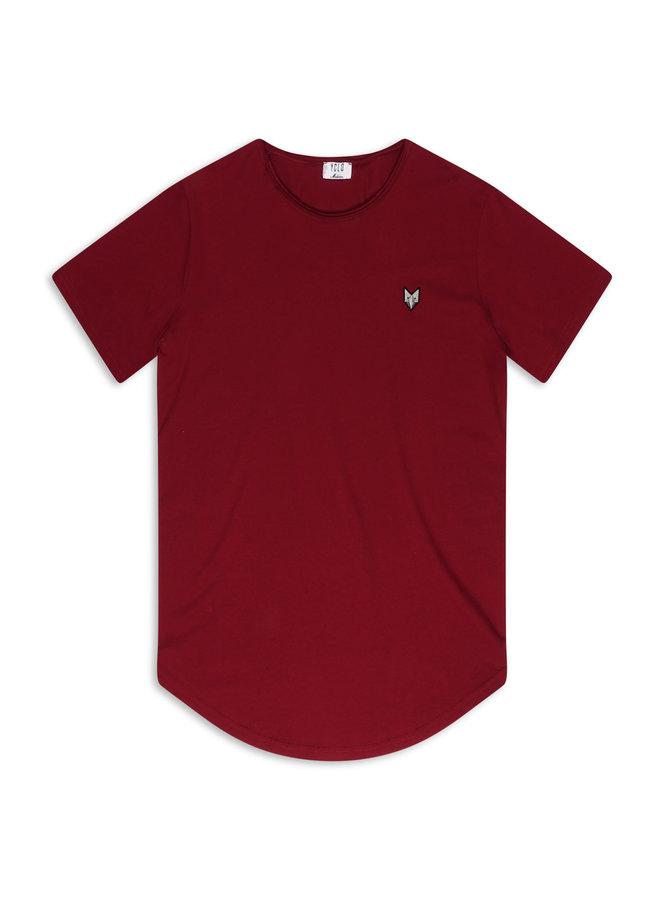 YCLO T-Shirt Kjeld Bordeaux
