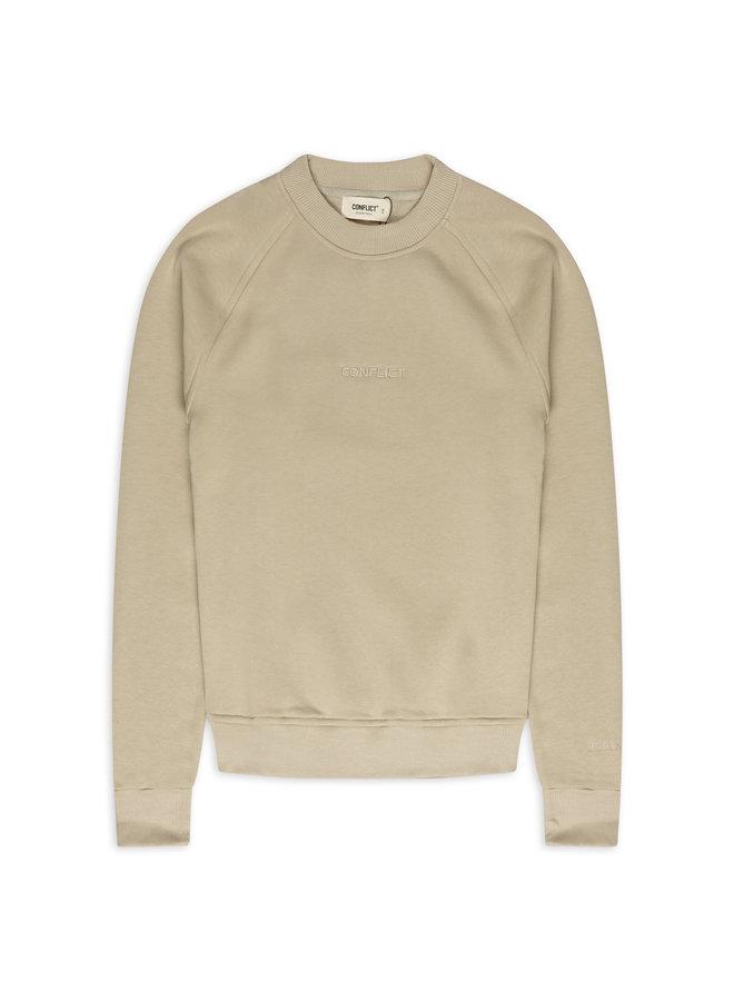 Conflict Raglan Sweater Essentials Beige