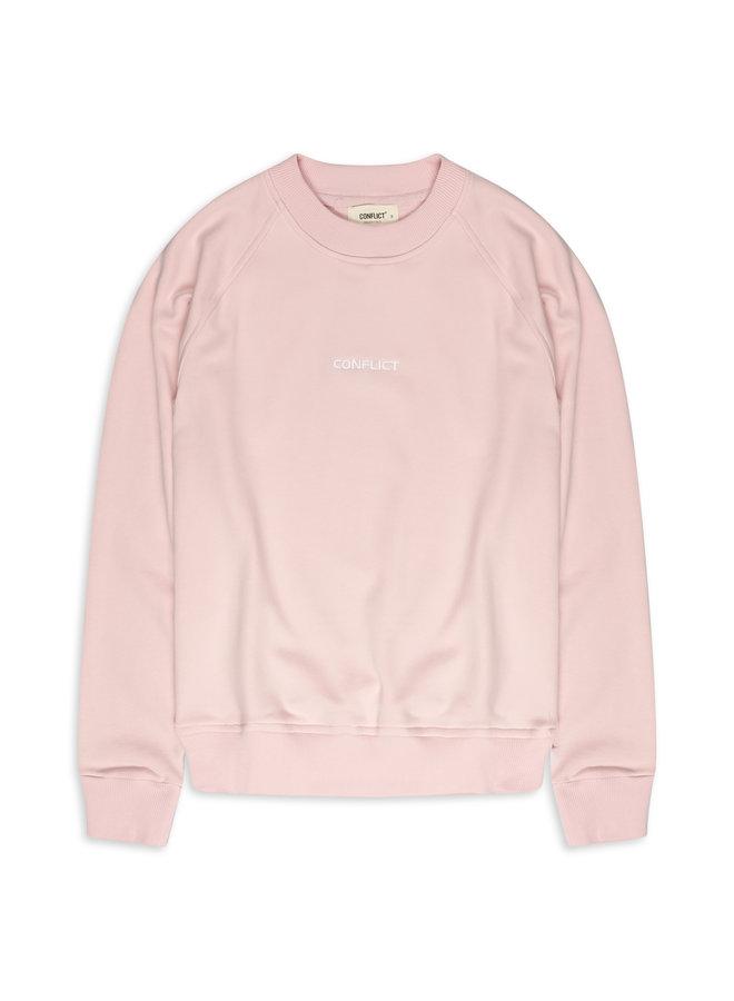 Conflict Raglan Sweater Essentials Pink
