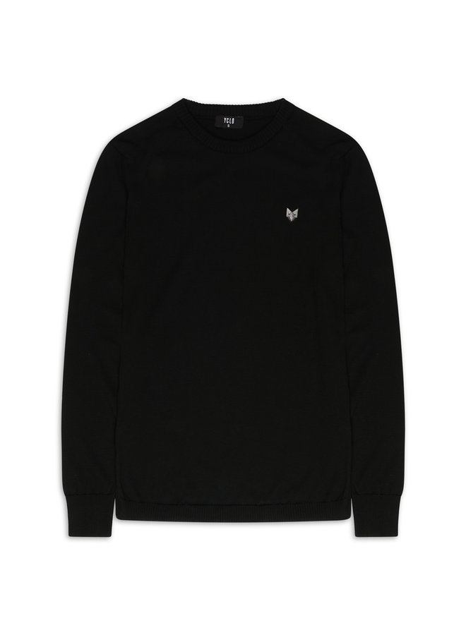 YCLO Knit Sweater Kaj Black