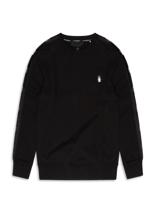 Conflict Sweater Line Black