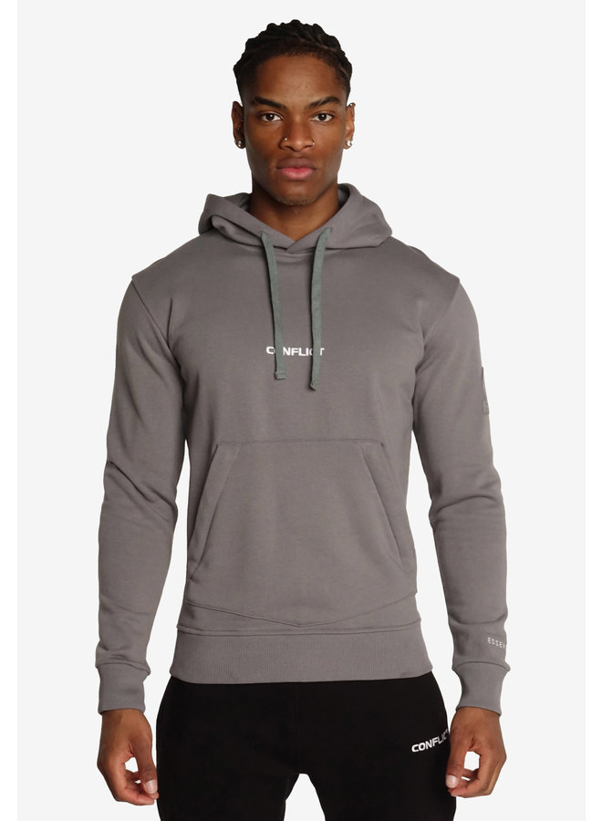 Conflict Hoodie Essentials Grey