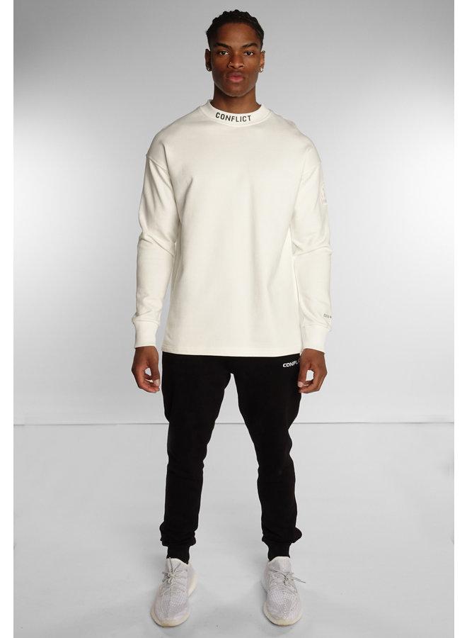 Conflict Sweater Logo Essentials Off White