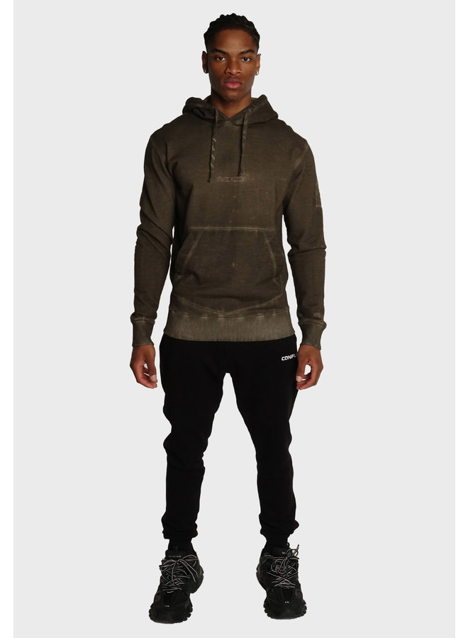 Conflict Dye Hoodie Essentials Army