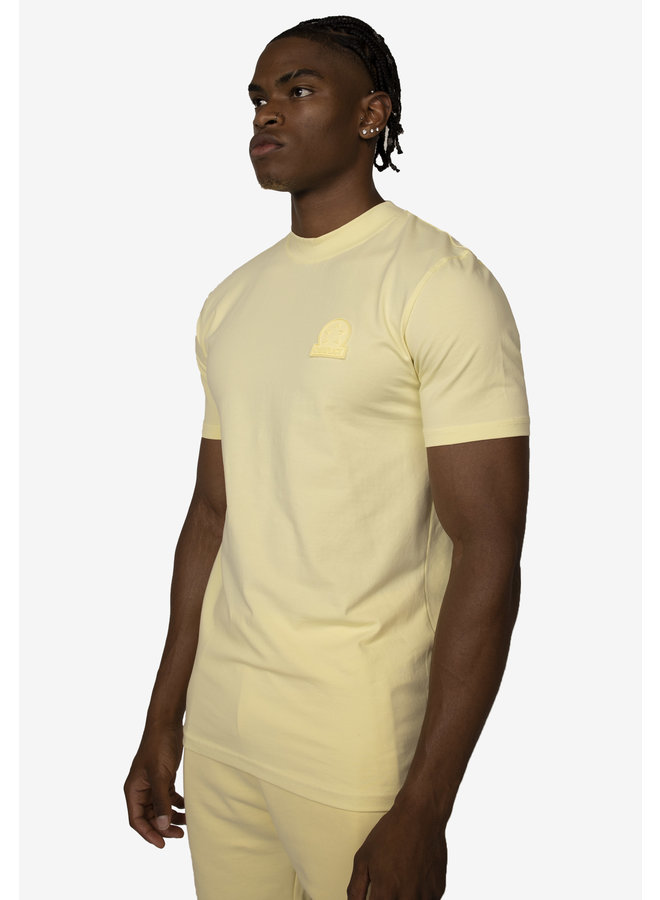 Conflict T-Shirt Logo Yellow