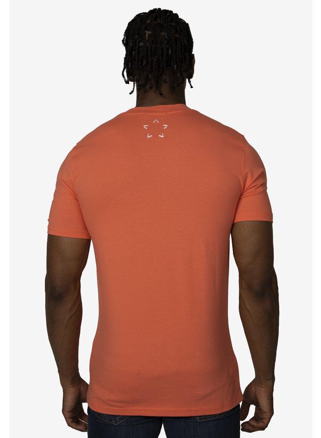 Conflict T-Shirt Dobermann Pfirsich