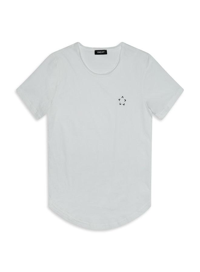 Conflict T-Shirt Kjeld White