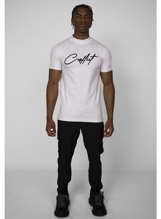 Conflict T-Shirt Signature Weiß
