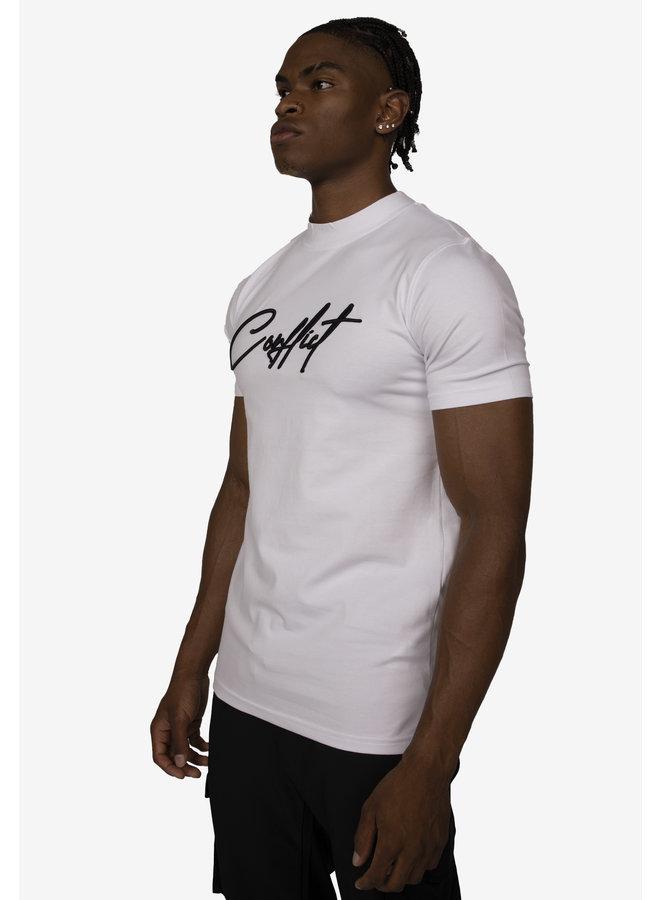 Conflict T-Shirt Signature White