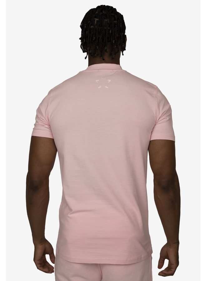 Conflict T-Shirt Logo Pink