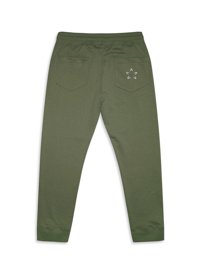 Conflict Sweat Pants Light Green