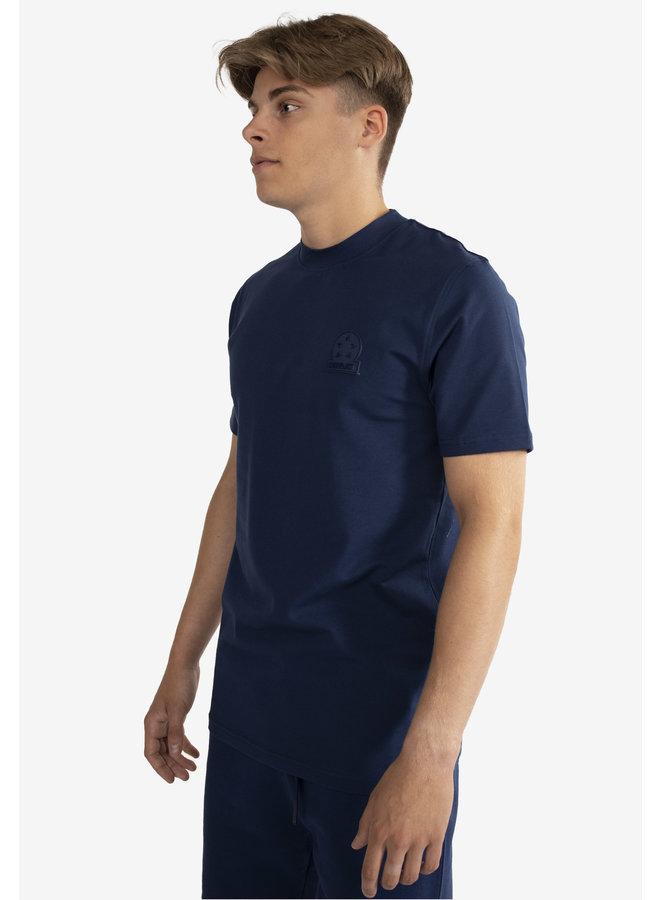 Conflict T-Shirt Logo Navy