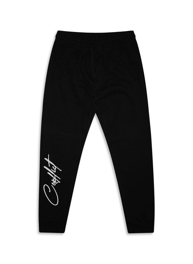 Conflict Sweat Pants Black