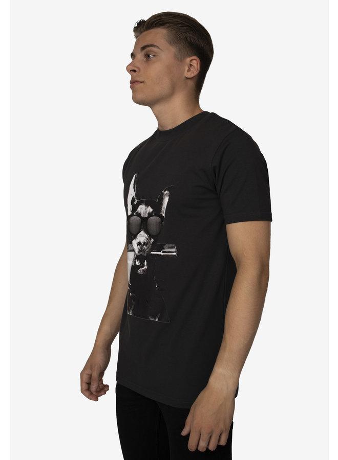 Conflict T-Shirt Dobermann Grey