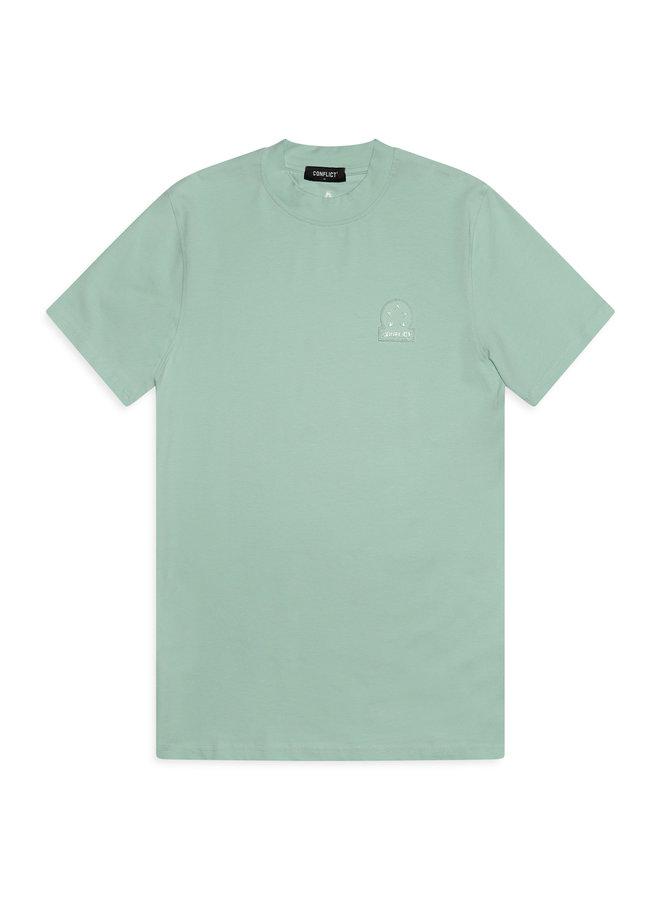 Conflict T-Shirt Logo Mint