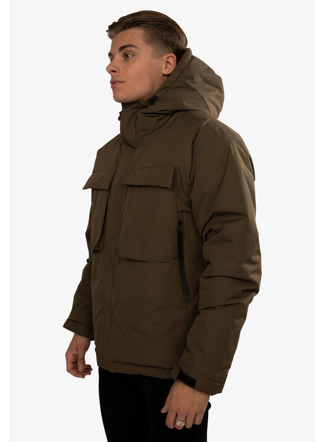 Hype Academy Jacket Thomas Army